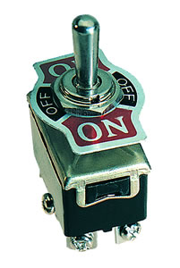 Elimex - SS-322-3W Toggle switch DPDT (6P)