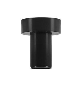SLV LIGHTING - Plafonnier FITU, A60, noir, avec patère R2
