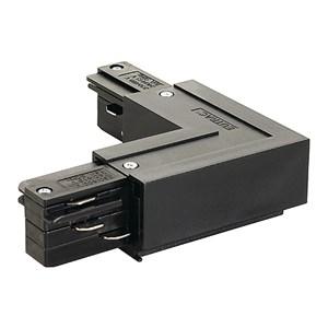 SLV LIGHTING - HV 3 Circuit Track - Eutrac L-verbinding 1 Buitenkant - Zwart
