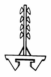 SCHNABL - BEVESTIGING Lengte / Longueur 42mm