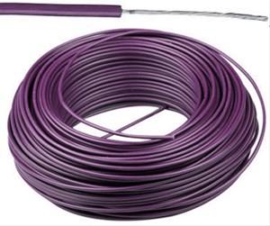 VTBst kabel / draad 0,75 mm² - paars (H05V-K) - VTBST075VI