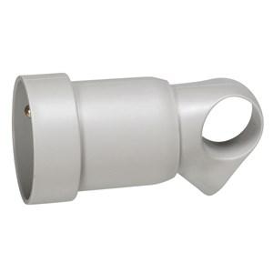 Legrand - Koppelctstop 2P+A met ring 16A grijs