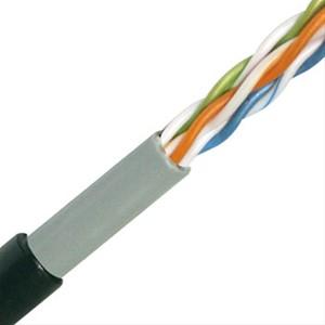 Niet-afgeschermde U/UTP Cat. 5e kabel voor buiten - per meter of op rol - UUTP5E/OUT