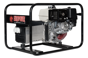 HONDA - Honda Generator EP6000 6KVA + Elektrische starter + Backup systeem