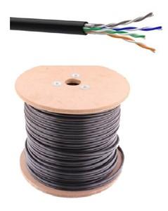 Câble pas blindé U/UTP Cat. 5e pour extérieur - au mètre ou en rouleau - UUTP5E/OUT