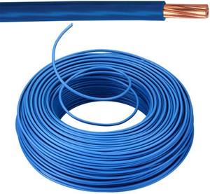 VOB kabel / draad 10 mm² Eca - blauw ( H07V-R) - VOB10BL