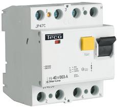 TECO - Differentieelschak. TC 4P 40A 300mA Type A