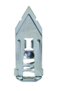GSV - VERZINKTE SPREIDKLEM GIPSPLAAT 3-13 MM MET SCHROEF 4 X 25 MM