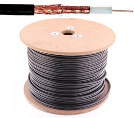 COAX PE6 kabel - Telenet / Interelectra - 75 Ohm - per meter of op rol - 705CRT2