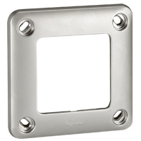 Legrand - Soliroc plaque 1 poste IP55 - IK10
