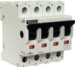 TECO - HOOFDSCHAKELAAR F&G 1P 16A