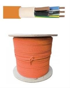 Pyrocontrol Power F2 - 2x1,5 mm² - Rf 1h - 300-500 volt - per meter of op rol - PYRO2X15