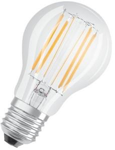 LEDVANCE - LEDPCLA75D 8,5W/827 230V FIL E27FS1
