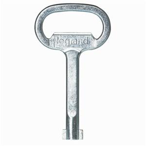 Legrand - Clé carrée mâle 6 mm - métal fermeture univ. coffrets/arm.