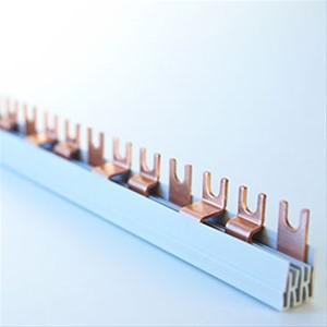 FTG - Kam.3P=L1,L2,L3,…Vork, 10mm², T-Vorm, 57 mod, 17mm, 1000mm, pitch
