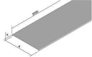 GSV - DEKSEL VOOR KABELOOT B200 MM