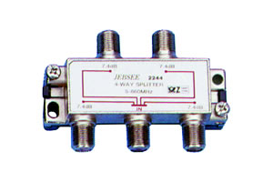 Elimex - 2244 4-way splitter