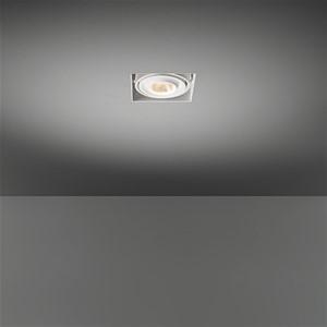 MODULAR - MINI MULTIPLE TRIMLESS FOR 1X LED GE WHITE STRUC