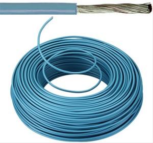 VOBst draad 6 mm² - blauw (H07V-K) - VOBST6BL