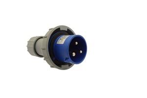 GSV - CEE STEKKER - 32 AMP - 3 POLES - 250 V - IP67 IP67