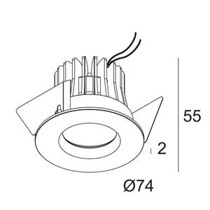 DELTA LIGHT - RINGO LED 92740 W