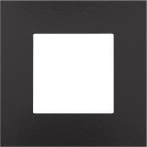 Niko, Enkelvoudige afdekplaat, Pure Bakelite® piano black
