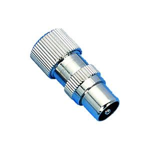 Elimex - JR-1757 9,5mm metal coaxial plug
