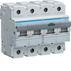 HAGER - Automaat 15kA 125A 4P C 6M