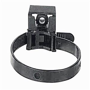 Legrand - Kabelband met steunstuk Poly. - gebr.buiten - zwart