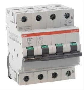 ABB Vynckier - EP60 disjoncteur 6kA 3P+N C 20A