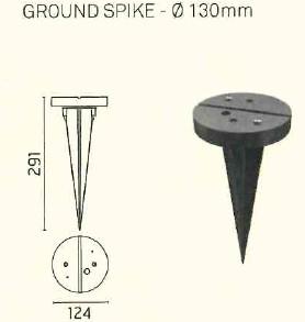 Ares - Picchetto Kirk 120