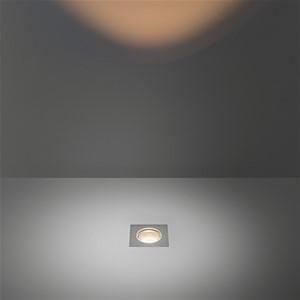 MODULAR - HIPY SQUARE 70X70 ANTI GLARE IP67 LED 3000K MEDIUM GE ALU