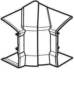 HAGER - Variabele binnenhoek voor GBD5008509010