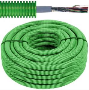 Tube précâblé - câble VVT - 2x2x0,6mm Ø 16mm, 100 mètres - FLEX FEVVT2X2