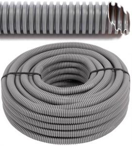 Tube flexibele vide avec du fil de traction Ø 25 mm, 100 mètres - FLEX FEAF25