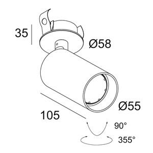 DELTA LIGHT - Spyco Clip Hi W
