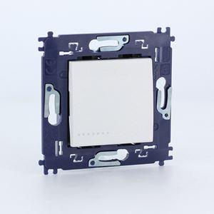 Bticino - LL Compleet enkelp. schakelaar 16A 250V - met schroeven - wit