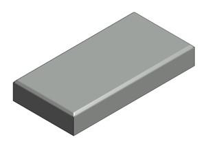VAN DER VALK - TEGEL 30 X 15 X 4,5 CM - CA. 4,5 KG
