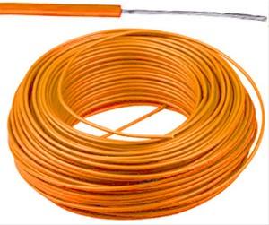 VTBst kabel / draad 0,75 mm² - oranje (H05V-K) - VTBST075OR