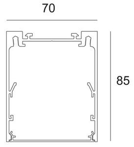 DELTA LIGHT - SRL 85/TR - CORNER 90°