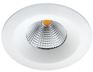 SG LIGHTING - UNILED ISOSAFE MAT WIT 8W LED 2700K