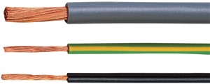 Draad Vobs 1,5 Gn-Ge Ho7 V-Kop Ring 100 M