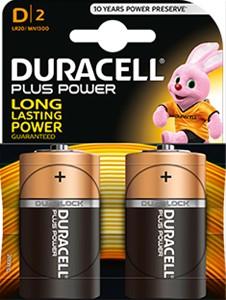 DURACELL - Duracell Plus Power D (LR20)