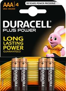 DURACELL - Duracell Plus Power AAA (LR03)