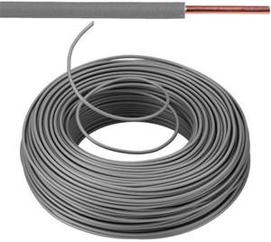 Câble VOB 1,5 mm² Eca - gris (H07V-U) - VOB15GR