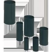 HELIA - Moffen versterkte uitvoering Ø 16 mm - RAL 9005 (zwart)