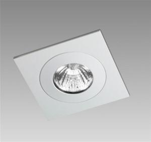 ORBIT - DUO SQ 1X MR16 = 50W / LED MR16 12V ALU GEBORSTELD