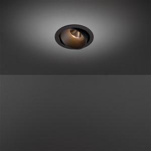 MODULAR - SMART LOTIS 115 ADJUSTABLE LED 2700K SPOT GE BLACK STRUC