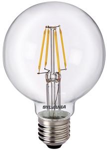 SYLVANIA - LED RETRO GLOBE80 5W E27 2700K 640LM