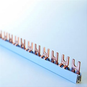 FTG - FTG Kam.2P=L1,L2(N)…Fourche, 10mm², L- Forme, 56mod, 17mm, 1M, Impr.Double